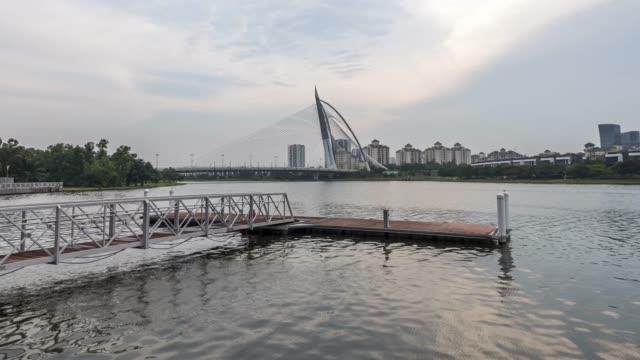 time-lapse - putrajaya stock videos & royalty-free footage