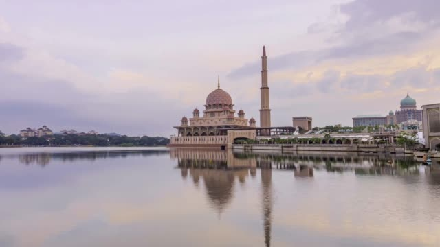 time-lapse - putrajaya stock videos & royalty-free footage