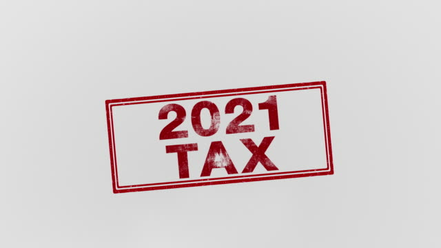 2021 tax - refund stock videos & royalty-free footage