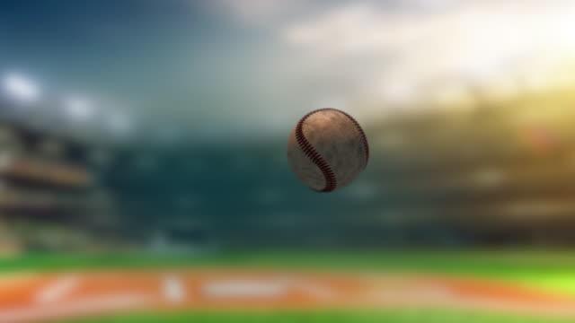 baseball slow motion - baseball player stock videos & royalty-free footage