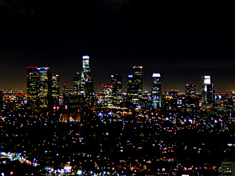 SKYLINE VON LOS ANGELES 7-PAL