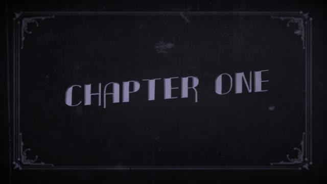 vidéos et rushes de vieux film chapitre un - chiffre 1