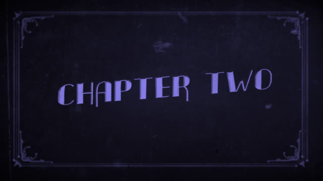old film chapter two - number 2 stock videos & royalty-free footage