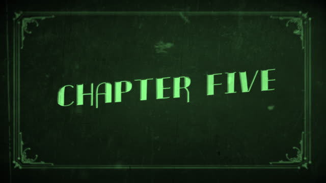 old film chapter five - number 5 stock videos & royalty-free footage