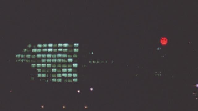 vídeos y material grabado en eventos de stock de window bg: montreal stationary - --- for hotel window bg. occasionally the lights have a flickering effect.; night - pájaro carpintero escapulario