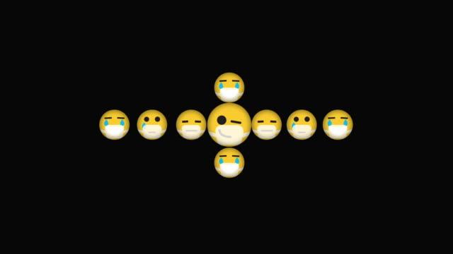 emojis grid growing - danger stock videos & royalty-free footage