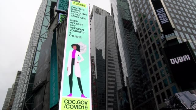 thank you to workers vertical neon billboard during covid19 crisis - sign stock videos & royalty-free footage