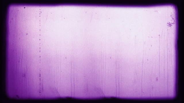 vídeos y material grabado en eventos de stock de old film 4k royal purple - proyector de película de 8mm