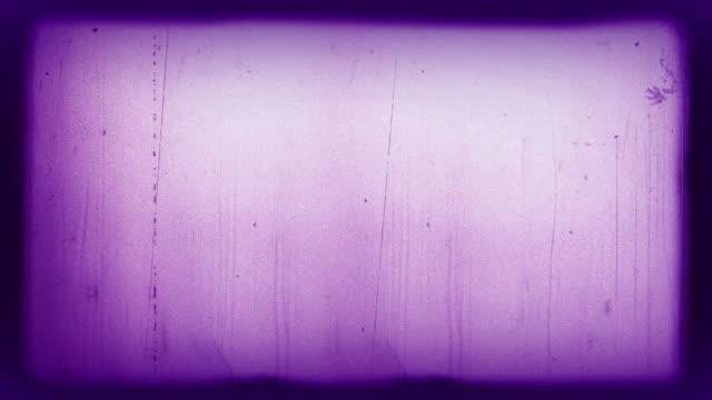 old film 4k purple - 8mm filmprojektor stock-videos und b-roll-filmmaterial