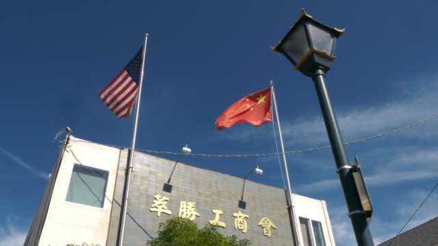china / usa - national flag stock videos & royalty-free footage