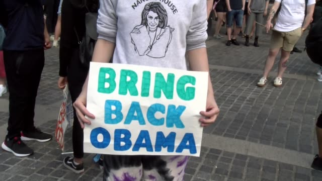 sign bring back obama - salmini stock videos & royalty-free footage