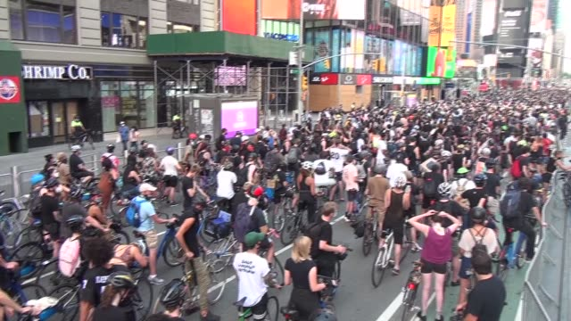 3000 riders assemble for mass protest ride - salmini stock videos & royalty-free footage
