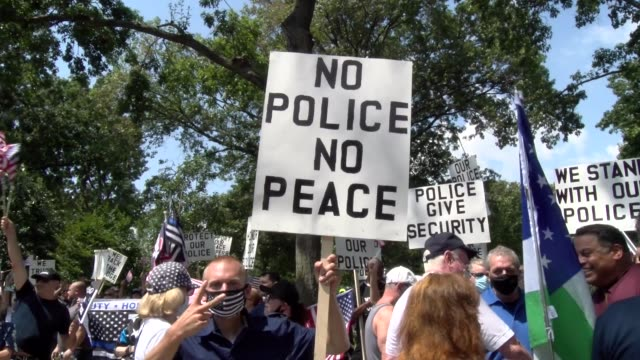 no police no peace banner - salmini stock videos & royalty-free footage