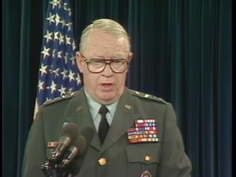 nbc news special report: america at war: pentagon news briefing - air raid siren stock videos & royalty-free footage