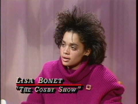 during interview child actors tempest bledsoe; lisa bonet;& malcolm-jamal warner voice pleasure at working with comdedian-actor bill cosby in tv... - malcolm jamal warner stock videos & royalty-free footage