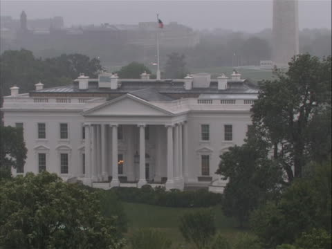 white house beauty in dark rainy windy weather during hurricane irene - vermont state house stock videos & royalty-free footage
