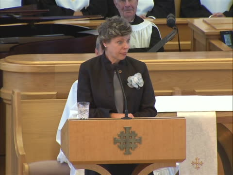betty ford funeralcokie roberts eulogy sot - eulogy stock videos & royalty-free footage