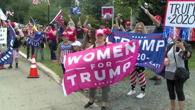 women for trump sign - salmini stock videos & royalty-free footage