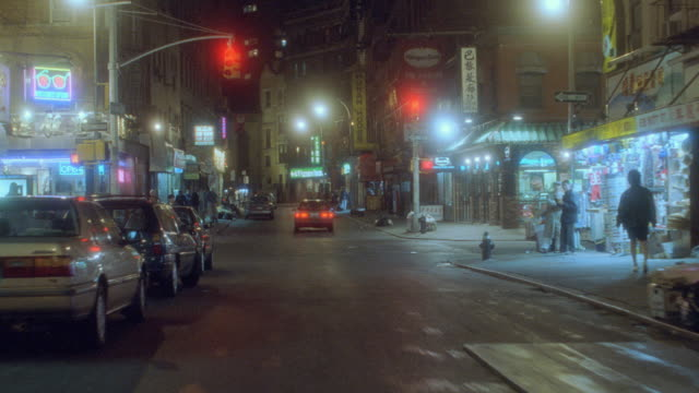 nx - new york, chinatown - 1998 stock videos & royalty-free footage