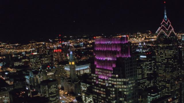 nx aerials philadelphia - logan circle stock videos & royalty-free footage
