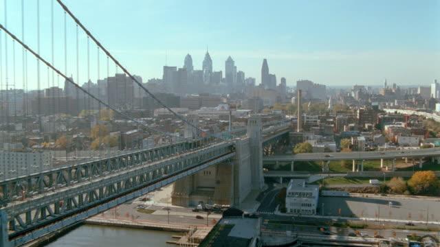 dx - aerials - philadelphia - philadelphia pennsylvania stock videos & royalty-free footage