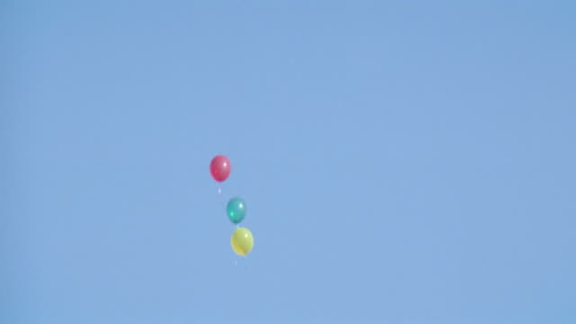 balloons - helium stock videos & royalty-free footage