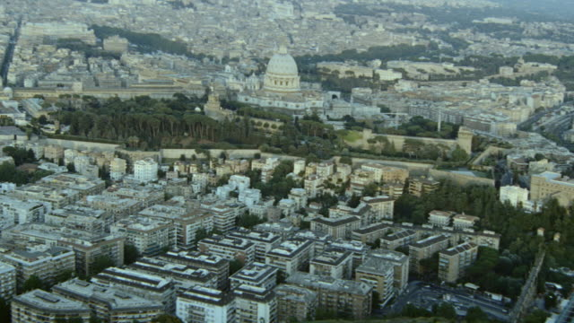 dx - aerials - rome - italy - golden hour stock videos & royalty-free footage