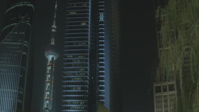 nx - china / shanghai - oriental pearl tower shanghai stock videos & royalty-free footage