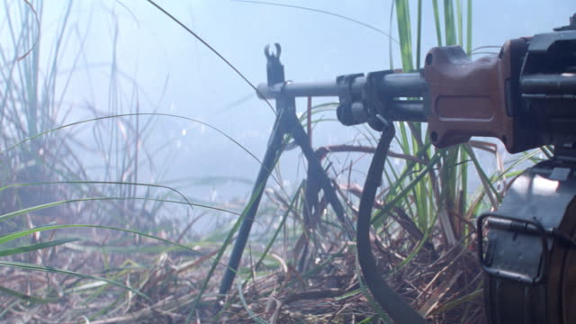 jungles-vietnam-marines-swamp-explosions - war stock videos & royalty-free footage