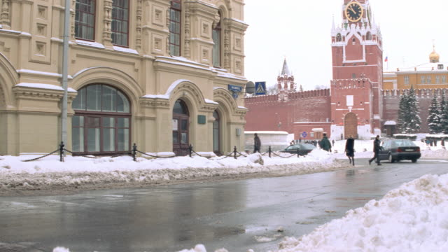 dx - moscow - russia - winter - bldgs./official bldgs. - red square stock videos & royalty-free footage