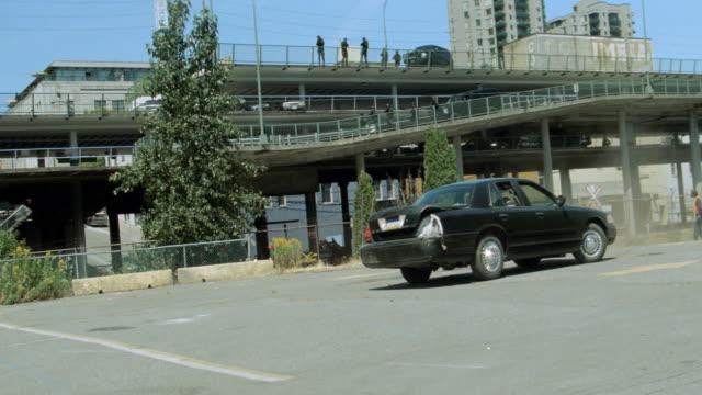 dx - car chase, train tracks - sedan stock videos & royalty-free footage