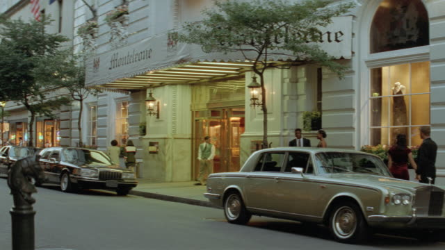 dx - late afternoon - new orleans - hotel - limousine - carriage - chauffeur stock videos & royalty-free footage