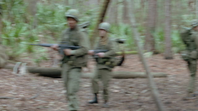 jungles-vietnam-marines - 1999 stock videos & royalty-free footage