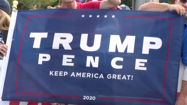 trump pence make america great - salmini stock videos & royalty-free footage