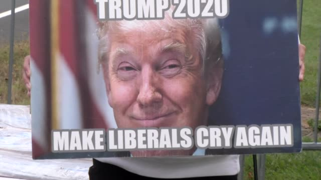 trump 2020 make liberals cry again - salmini stock videos & royalty-free footage