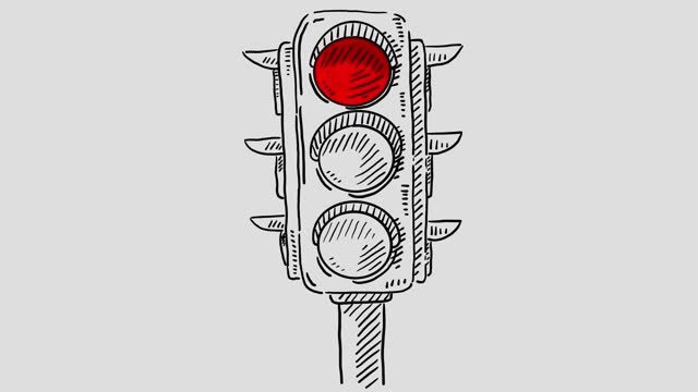 vídeos y material grabado en eventos de stock de animación del semáforo - luz verde semáforo