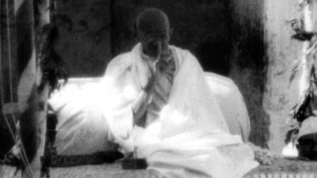 stockvideo's en b-roll-footage met . - mahatma gandhi