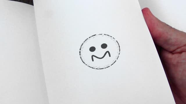 flipbook emoticons animation - clip stock-videos und b-roll-filmmaterial