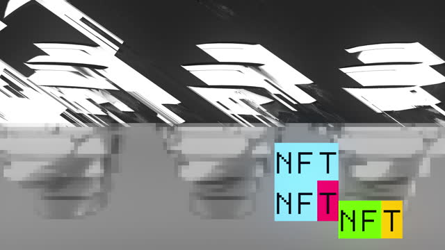 nft - blockchain stock videos & royalty-free footage