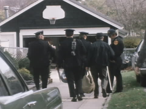 amityville, ny - 1974 - defeo family murders - crime or recreational drug or prison or legal trial stock videos & royalty-free footage