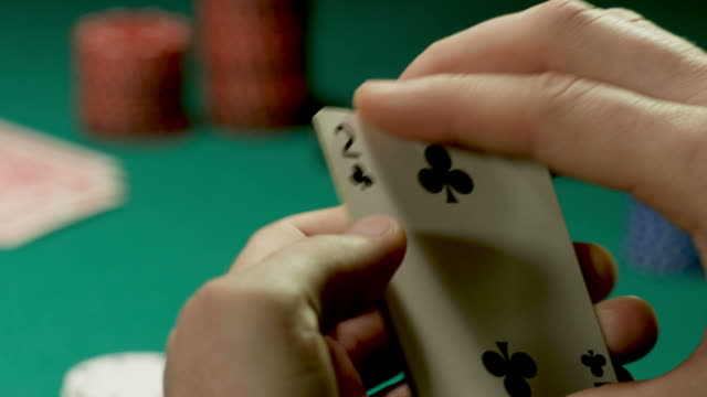 bad poker hand-1080hd - cards stock videos and b-roll footage