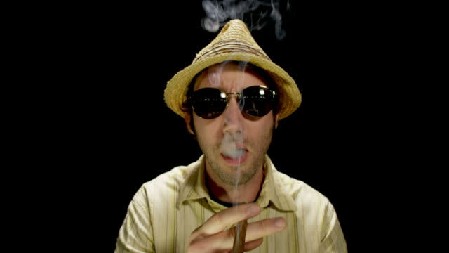 poker player with cigar-limbo-1080hd - cigar stock videos & royalty-free footage