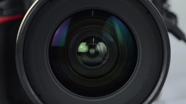 デジタル一眼レフ - デジタル一眼レフカメラ点の映像素材/bロール