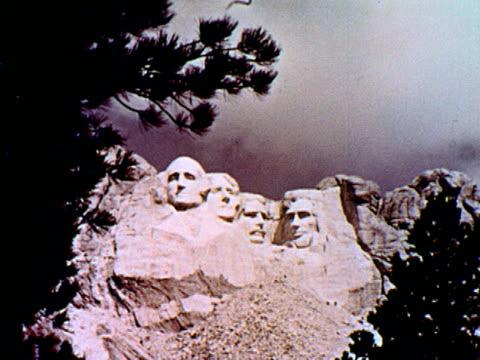vidéos et rushes de  - monument national du mont rushmore