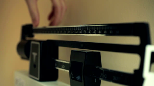 weight scales - weight scale stock videos & royalty-free footage