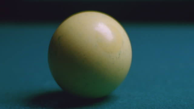 insert pool cue hits cue ball - cue ball stock videos & royalty-free footage