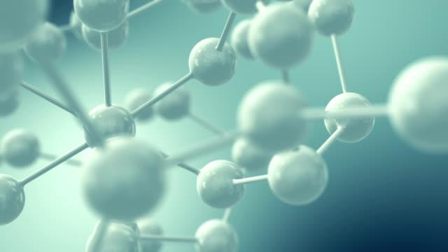 vídeos de stock e filmes b-roll de adn - combinação química