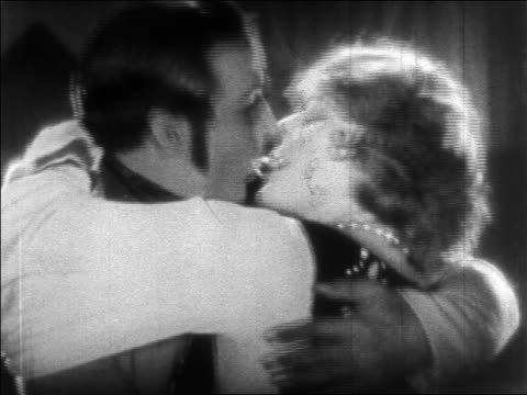 close up profile man + woman kissing / feature - 1925 stock videos & royalty-free footage