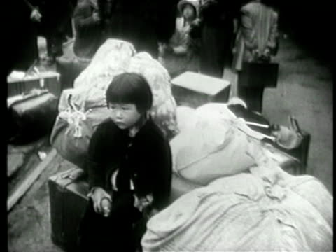 . - internment of japanese americans stock videos & royalty-free footage