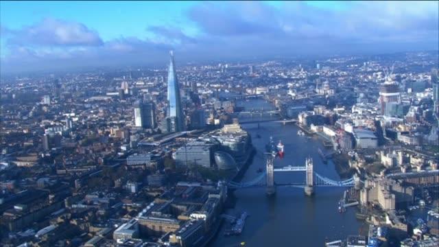 nnbn103d - shard london bridge stock videos & royalty-free footage